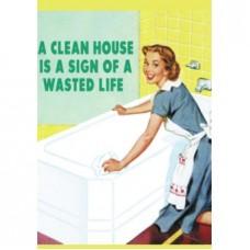 Card - A Clean House