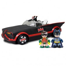 Batman and Robin DC Mini Mez-Itz with 1966 Batmobile Vehicle