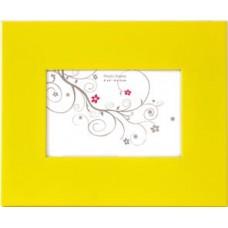 Cornice gialla per foto 10x15
