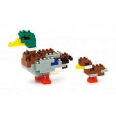 KAWADA NanoBlock mallard duck NBC-061