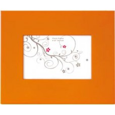Arcobaleno frame Arancione per foto 10x15