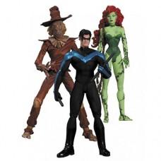Batman Hush Scarecrow, Nightwing & Poison Ivy Figure Set