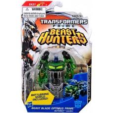 Beast Hunters Cyberverse Commander Beast Blade Optimus Prime
