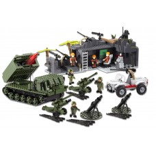 Character Building H.M. Armed Forces Army Infantry & Artillery Mega Set