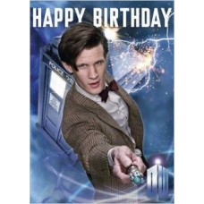 Doctor Who Birthday Card