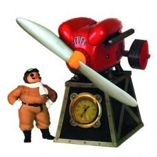Porco Rosso Kurenai No Buta Table Clock