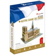 """3D Puzzle """"Notre Dame de Paris - Parigi"""""""