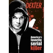 Dexter Poster America's Favorite Serial Killer