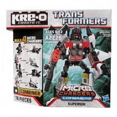 Kre-o Transformers Changer Combiners Superion