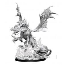 Dungeons & Dragons: Pathfinder Battles Deep Cuts Unpainted Minis: Nightmare Dragon