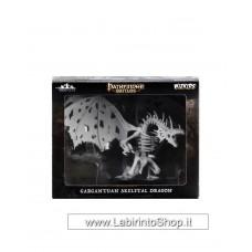 Dungeons & Dragons: Pathfinder Battles Deep Cuts Unpainted Minis: Gargantuan Skeletal Dragon