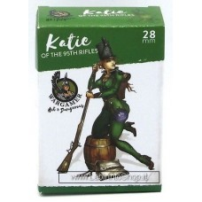 Wargamer Hot and Dangerous 28mm Katie of the 95th Rifles