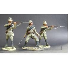 Britain Coloniali Inglesi 1/32 Metallo set di 3