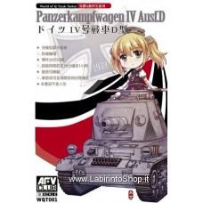 AFV Club WQT001 Panzerkampfwagen IV AusfD Q Scale