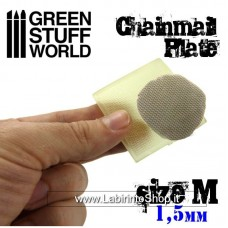 Green Stuff World Texture Plate - ChainMail - Size M