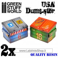 Green Stuff World USA Dumpster