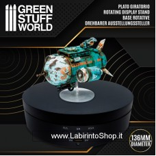 Green Stuff World Rotating Display Stand 136mm