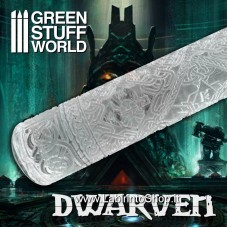 Green Stuff World Rolling Pin DWARVEN