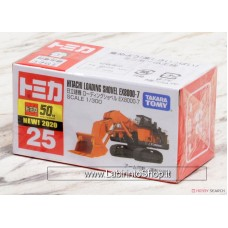No.25 Hitachi Construction Machinery Loading Excavator EX8000-6 (Box) (Tomica)