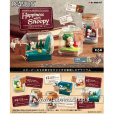Snoopy & Friends Terrarium Happiness with Snoopy (Anime Toy)