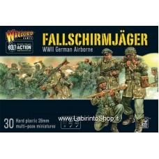 Warlord Fallschirmjager (plastic box)
