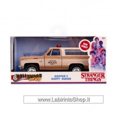 Jada - Hollywood Rides - Stranger Things - Hopper's Chevy Blazer 1/32