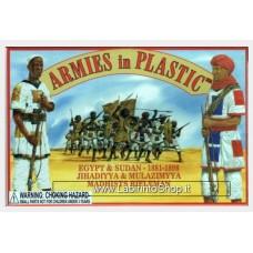 Armies in Plastic - 1/32 - Egypt and Sudan Campaigns 1881-1898 - Jihadiyah Mulazim A Dahists Rifleman