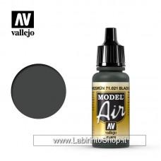 Vallejo Model Air 17ml 71.021 Black Green rlm70