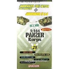 Dragon - 1/144 -  Jagdpanzer 38T Hetzer Early production - Jagdpanzer IV A-0