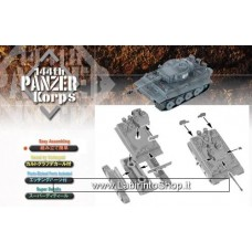 Dragon - 1/144 -  Tiger I Initial Production S.Pz.Abt.502 103 With Snorkel Folding Pipe - S.Pz.Abt501 243