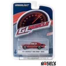 Greenlight 1/64 - GL Muscle - 1971 Chevrolet Nova Yenko Deuce