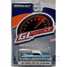 Greenlight 1/64 - GL Muscle - 1964 Plymounth Sport Fury 426 Max Wedge