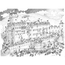 Puzzle delle Formiche 1080 Pezzi - Castello