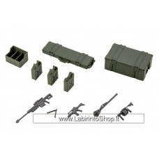 Hexa Gear Plastic Model Kit 1/24 Army Container Set 8 cm (Plastic model)