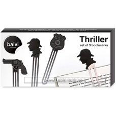 Thriller Set of 3 Bookmarks - Set di 3 Segnalibri