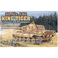 Dragon - 1/144 - Mini Armor - 02 - SD.Kfz.182 King Tiger Henschel Turret