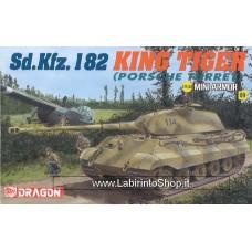 Dragon - 1/144 - Mini Armor - 09 - SD.Kfz.182 King Tiger Porsche Turret