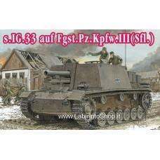 Dragon - 1/144 - Mini Armor - 08 - s.IG.33 auf Fgst.Pz.Kpfw.III Sfl