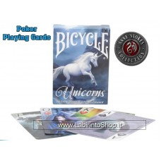 Bicycle Anne Strokes and John Woodward Unicorns Pocker Cards