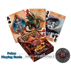 Bicycle Anne Strokes Age of Dragons Pocker Cards