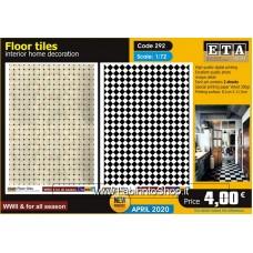 ETA Diorama - 292 - WWII All Season - 1/72 - Home Floor Tiles