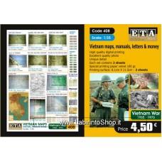 ETA Diorama - 408 - Vietnam War - 1/35 - Vietnam Maps