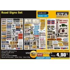 ETA Diorama - 633 - WWII - 1/35 - Road Sign Set