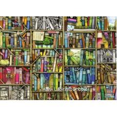 Puzzle - Ravensburger Puzzle - La Libreria Bizzarra 1000 Pezzi