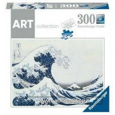 Puzzle - Ravensburger Puzzle - Art - The Great Wave of Kanagawa Hokusai 300 Pezzi