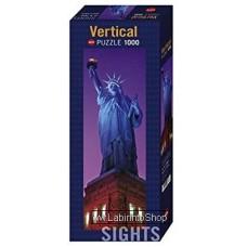 Puzzle - Heye Puzzle - Vertical Statue Of Liberty 1000 Pezzi