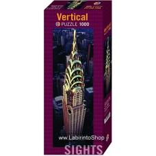 Puzzle - Heye Puzzle - Vertical Chrysler Building 1000 Pezzi