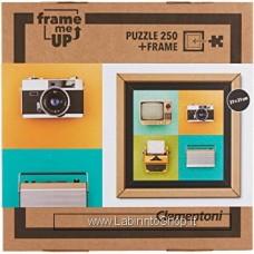 Puzzle - Clementoni - Frame me up - 250 pezzi - Puzzle con cornice - Vintage Electronics