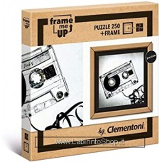 Puzzle - Clementoni - Frame me up - 250 pezzi - Puzzle con cornice - Love Songs