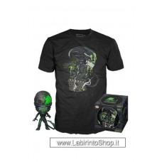 Alien POP! & Tee Box 40th Xenomorph heo Exclusive